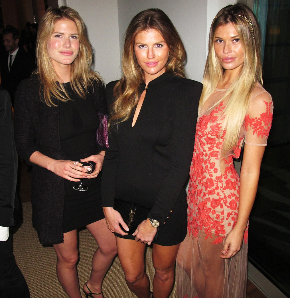 Treats Oscar party, AnnMarie Nitti, Samantha Hoopes