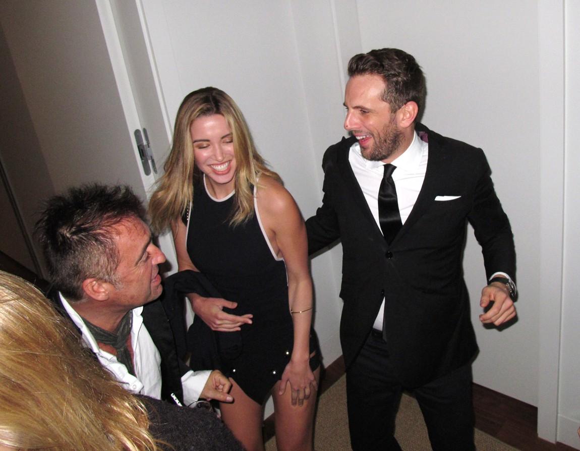 Treats Oscar party, Antoine Verglas, Gregoire Vogelsang