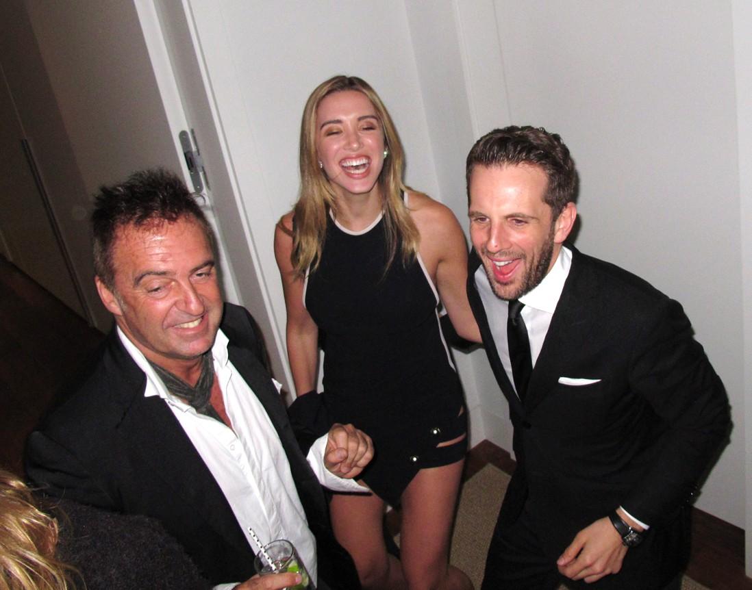 Treats Oscar party, Gregoire Vogelsang, Antoine Verglas