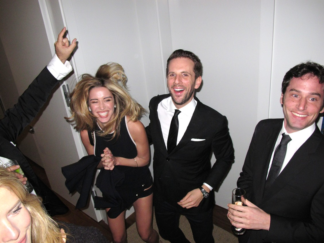Treats Oscar party, Gregoire Vogelsang gallery