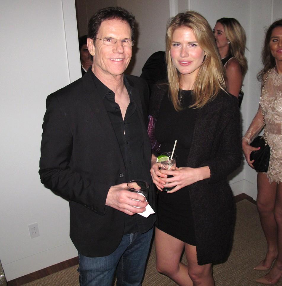 Treats Oscar party, Jeff Rice, AnnMarie Nitti