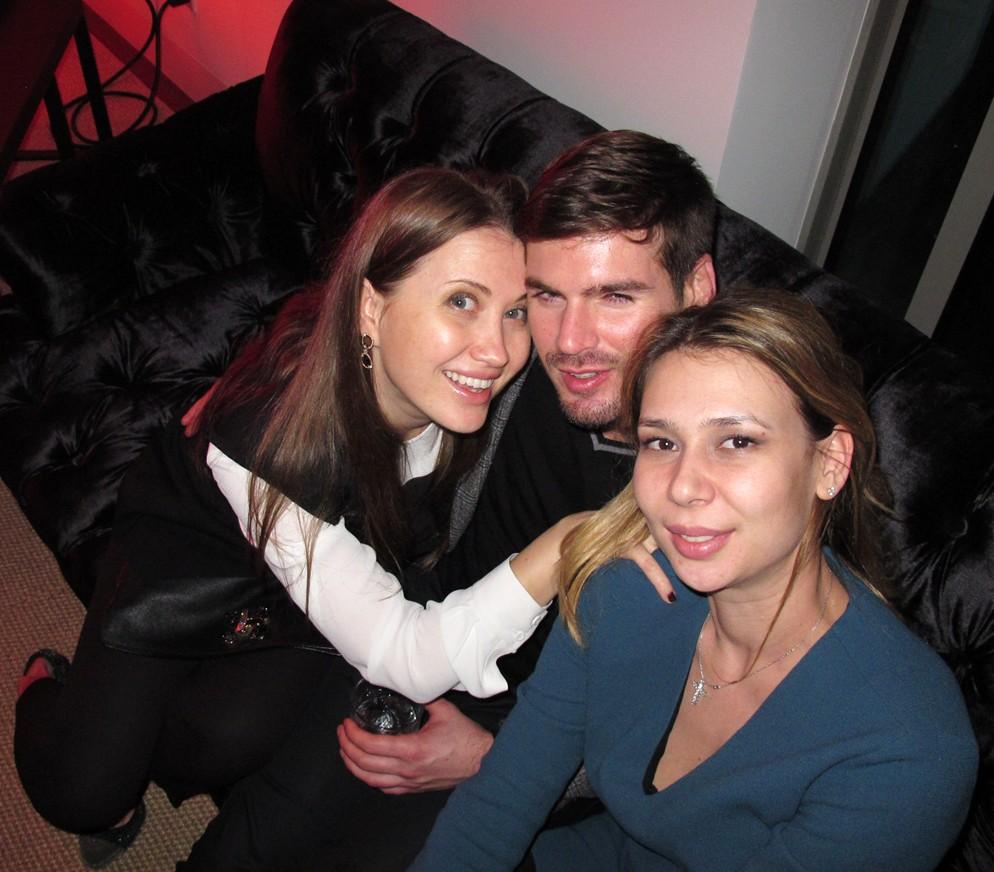Treats Oscar party, Tatiana Brunetti