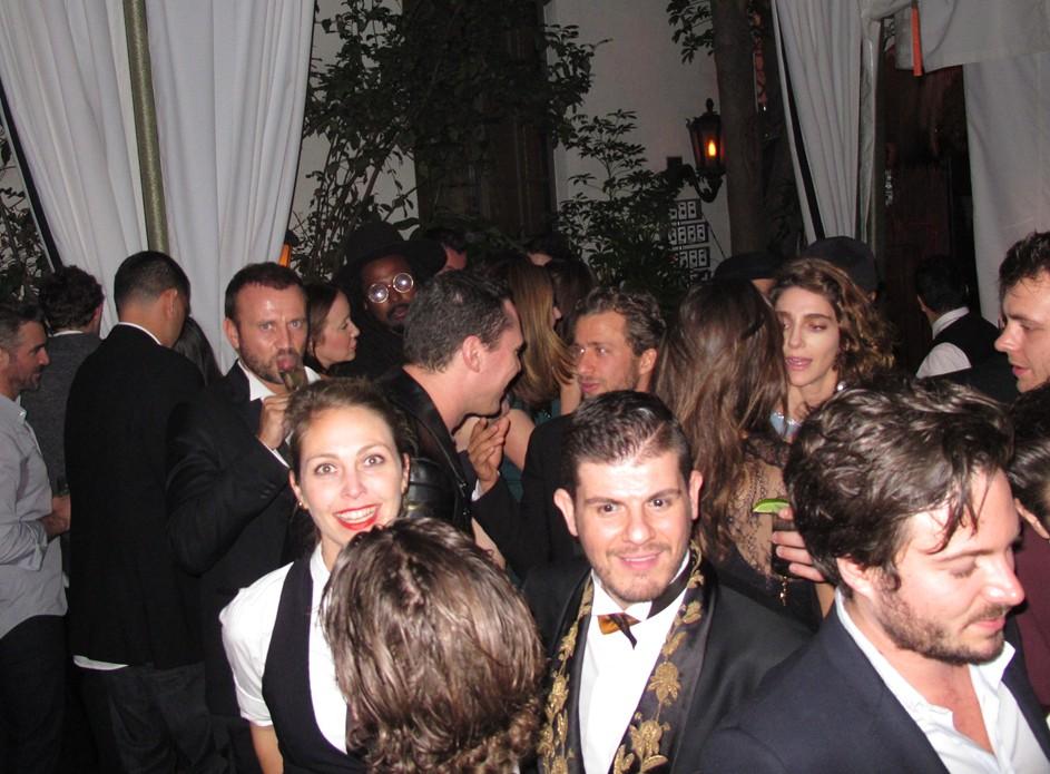 Warner Music Group Grammy party, Eli Mizrahi
