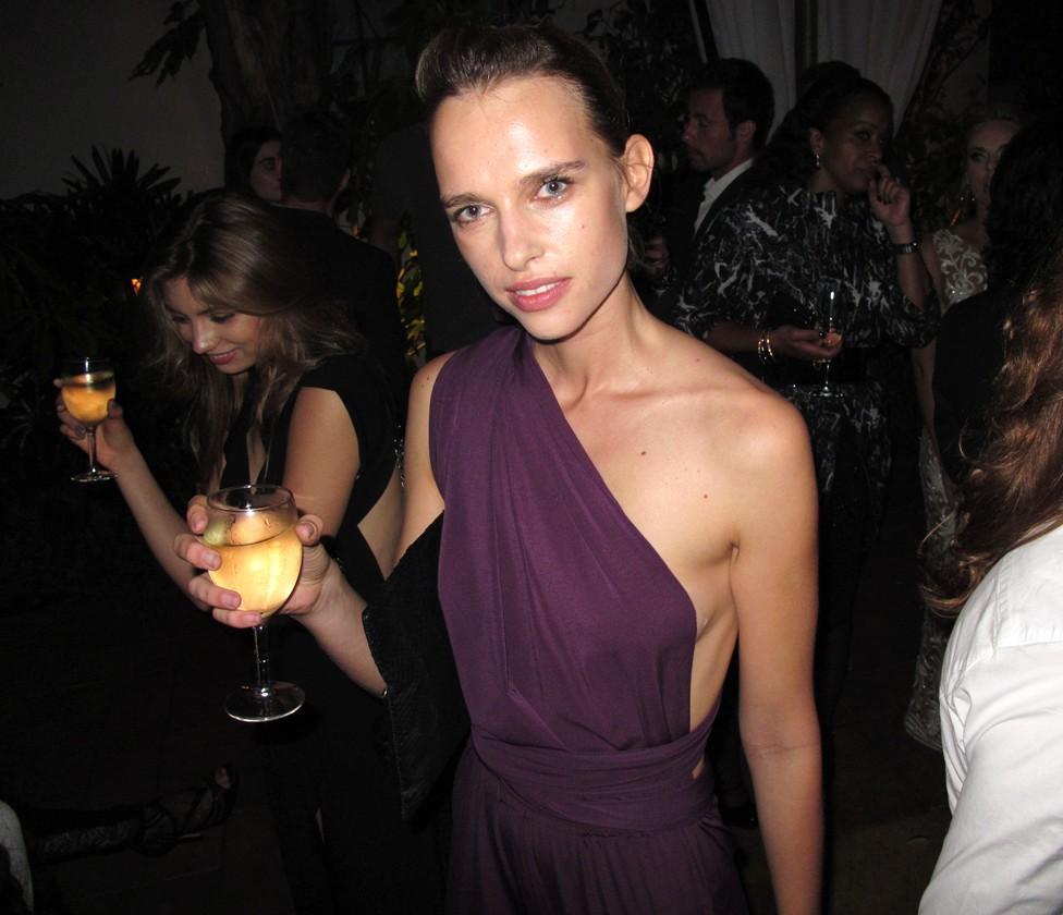 Warner Music Group Grammy party, Masha Rudenko