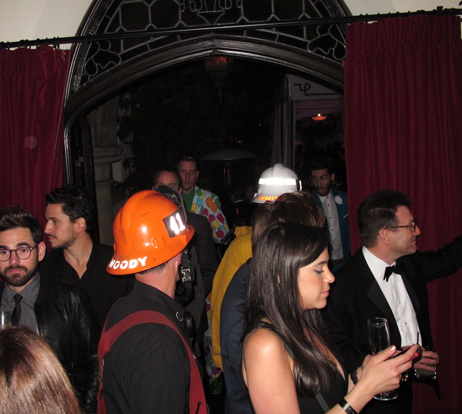 Warner Music Group Grammy party, fire marshall