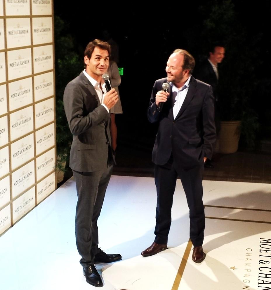 Moet Chandon, Roger Federer, 1000 wins tribute