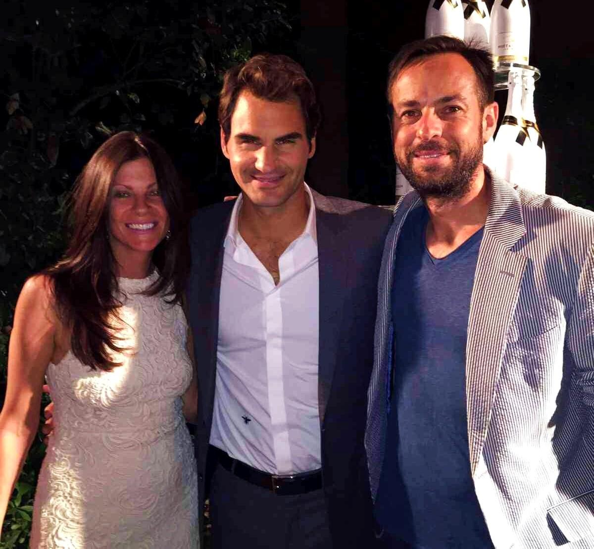 Moet Chandon, Roger Federer,
