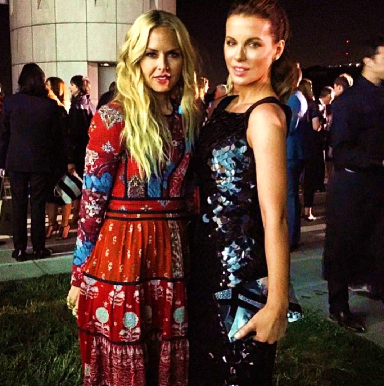 Burberry London in Los Angeles, Rachel Zoe, Kate Beckinsale