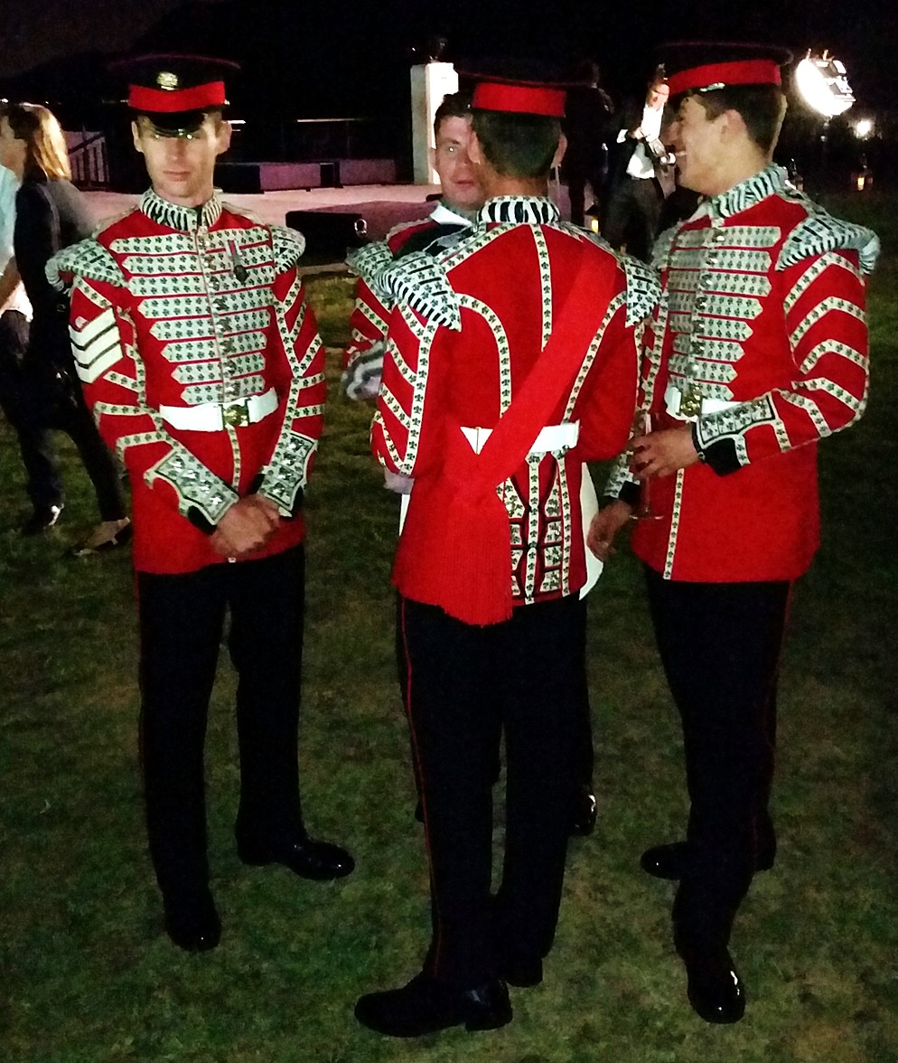 Burberry London in Los Angeles, queens guard