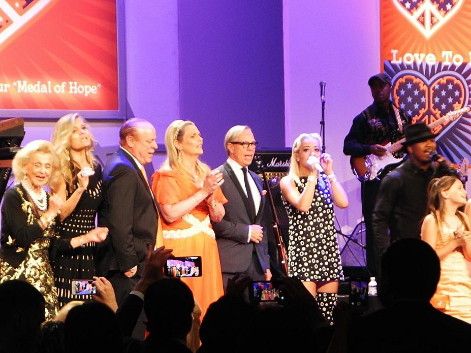 Race to Erase 2015, Tommy Hilfiger, Nancy Davis, Rita Ora