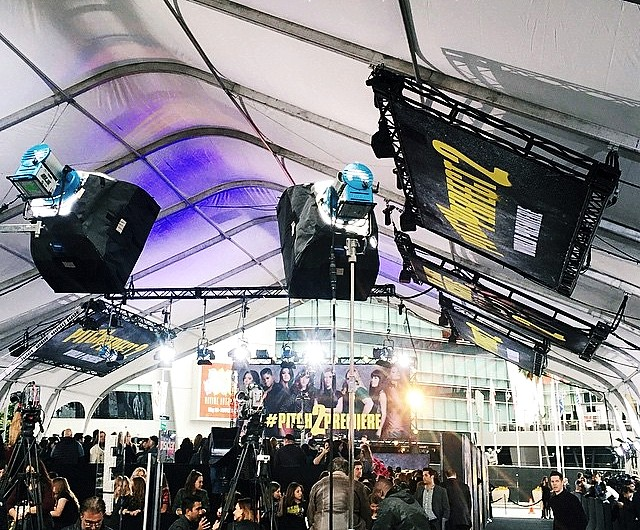 Pitch Perfect 2, red carpet, premiere