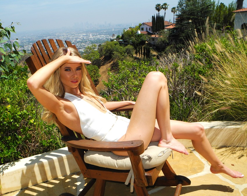 Louisa Warwick, BTS Hollywood