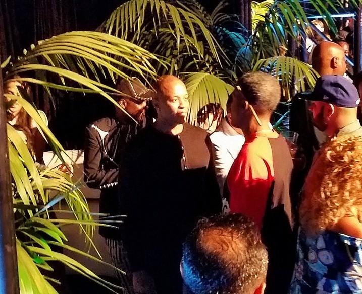 Straight Outta Compton, Dre, after party, LA