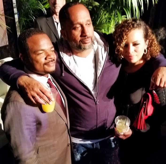 Straight Outta Compton, F. Gary Gray, after party