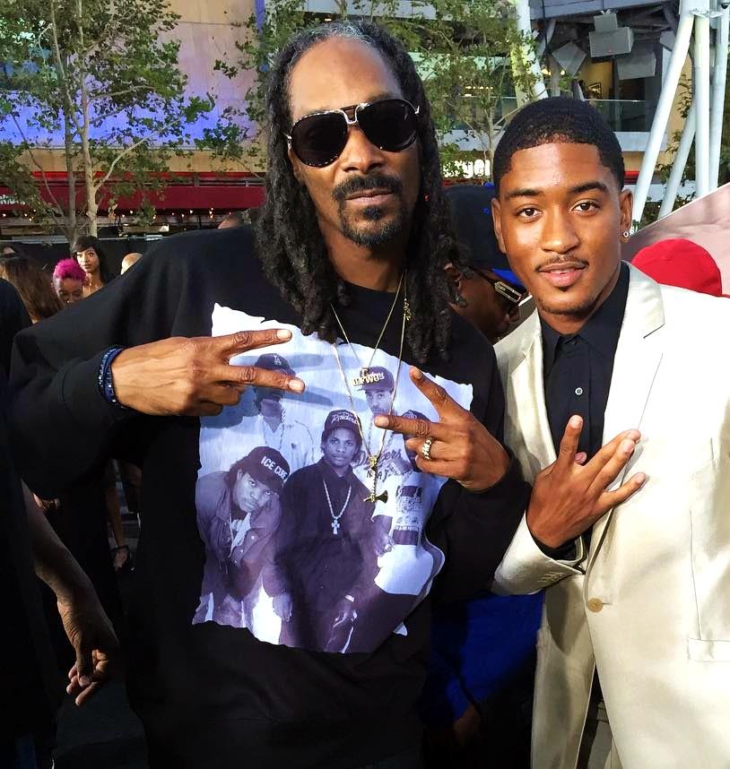 Straight Outta Compton, Snoop Dogg, premiere