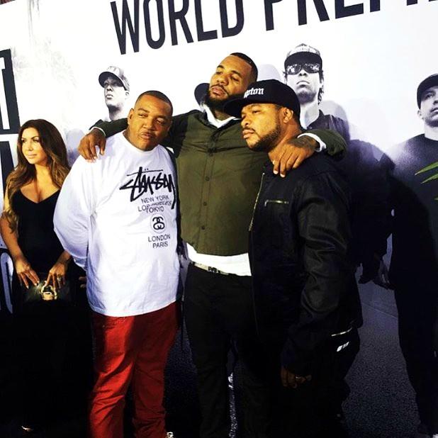 Straight Outta Compton, The Game, Xzibit