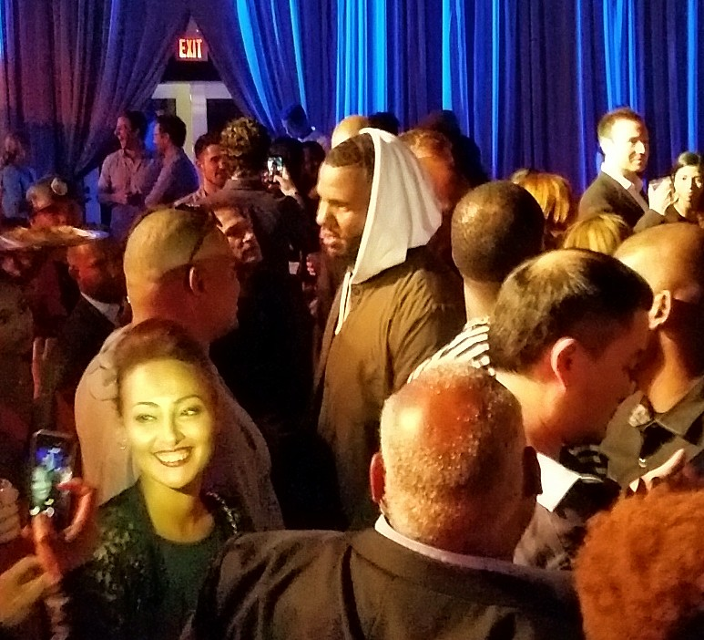 Straight Outta Compton, The Game, after party