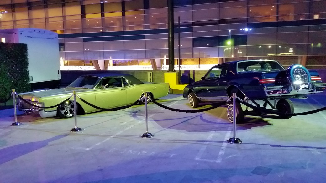 Straight Outta Compton, after party, cars