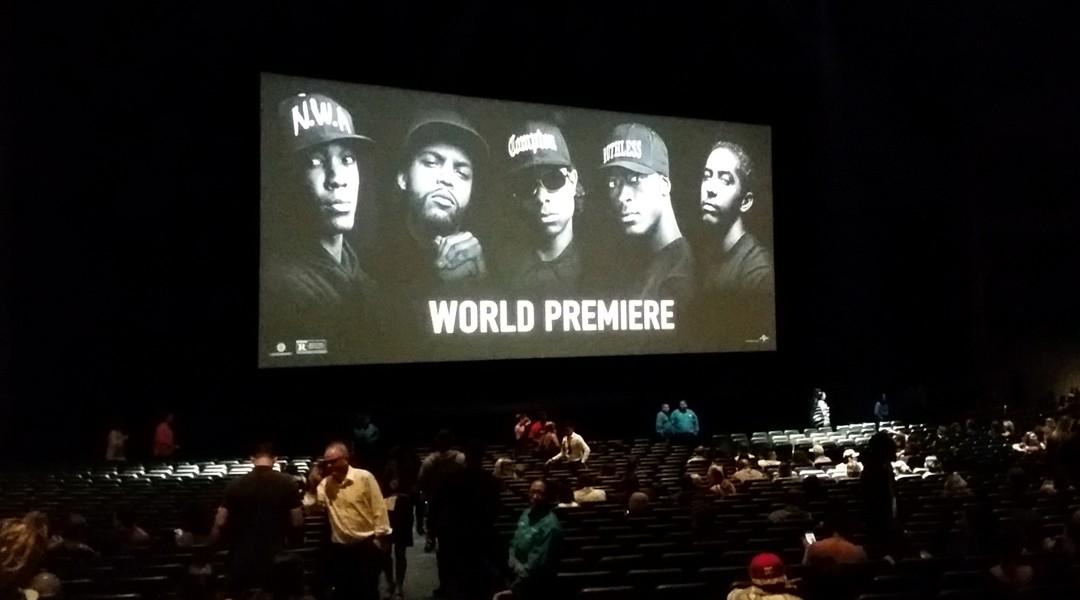 Straight Outta Compton, movie premiere, microsoft Theatre