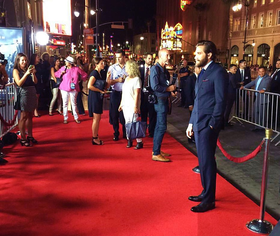 Everest, movie premiere, Jake Gyllenhaal