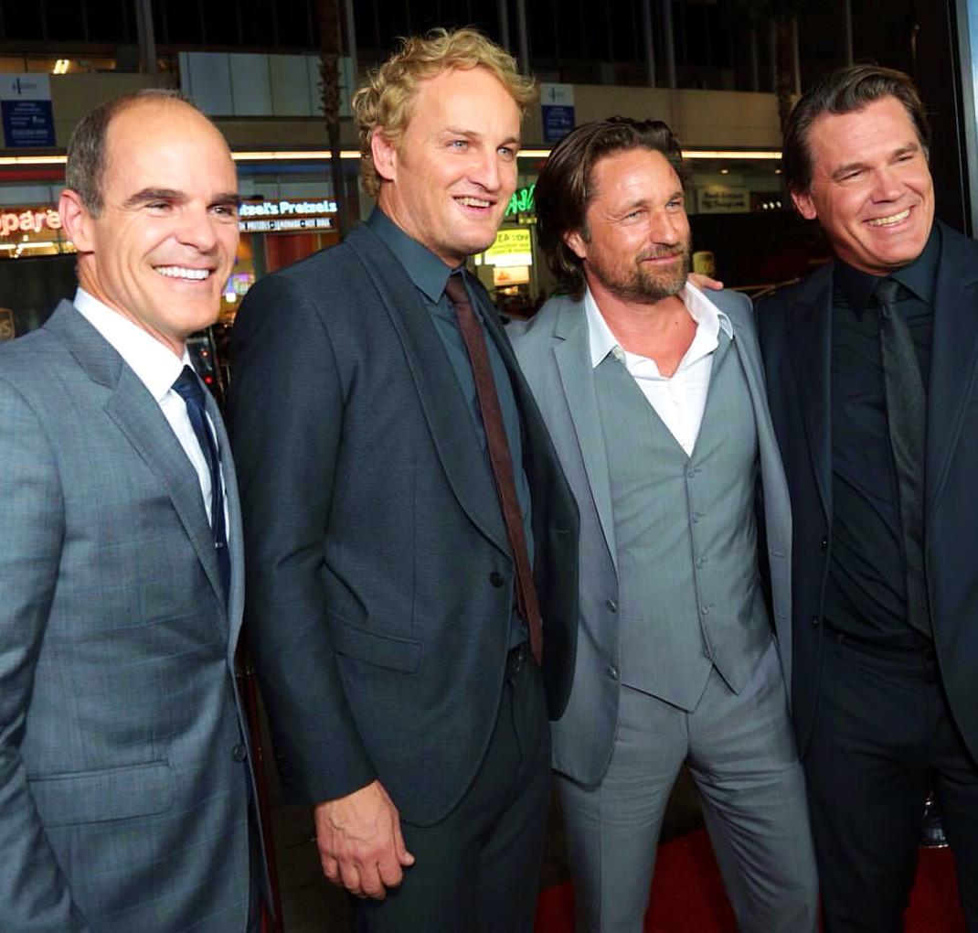 Everest, movie premiere, Michael Kelly, Jason Clarke, Martin Henderson, Josh Brolin