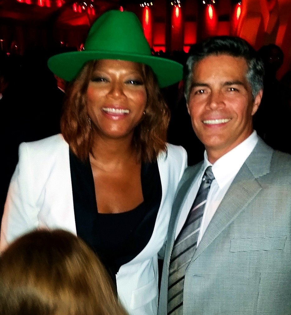 HBO Emmy Party 2015, Queen Latifah, Esai Morales
