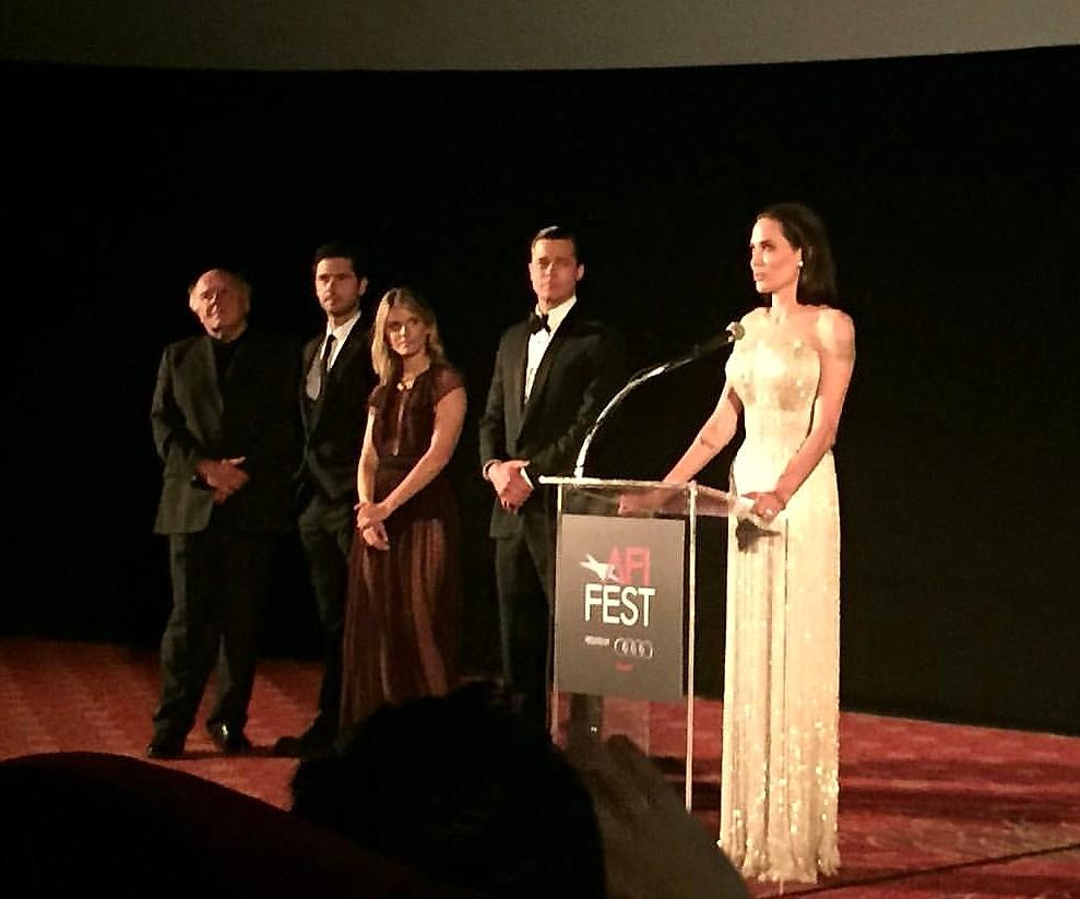 By The Sea, Brad Pitt, Angelina Jolie, AFI Fest