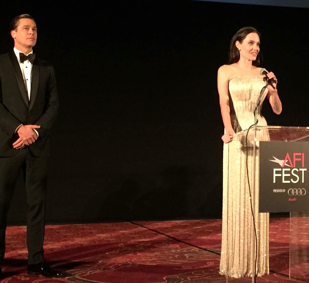 By The Sea, Brad Pitt, Angelina Jolie, LA, premiere