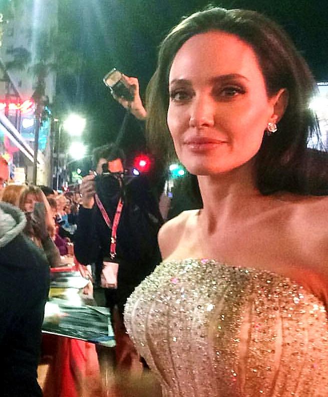 By The Sea, LA, Angelina Jolie, premiere, AFI festival