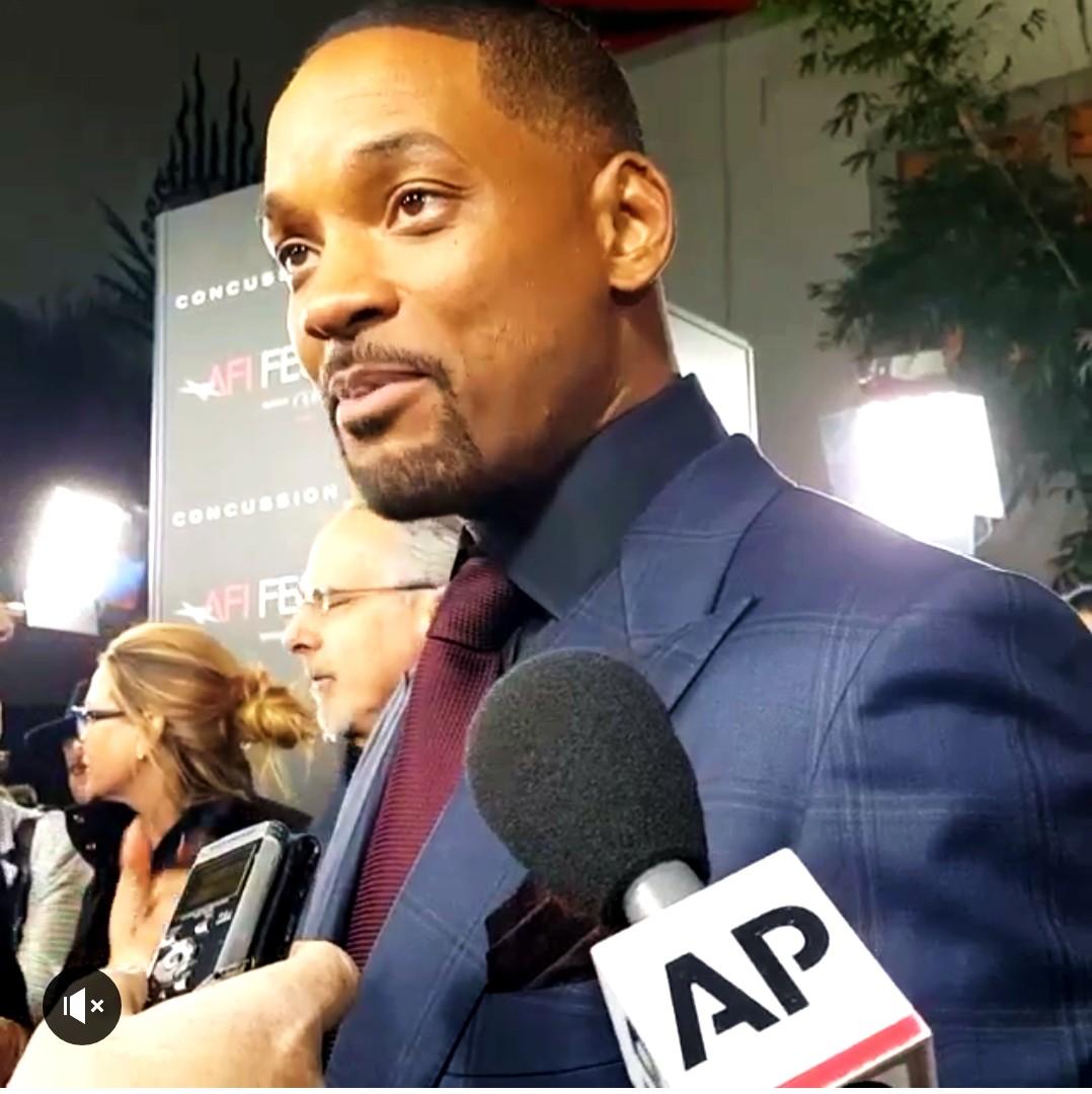 Concussion, movie premire, AFI, Will Smith, red carpet