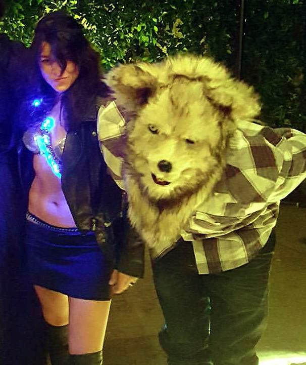 Maroon 5, Halloween Party, Los Angeles, Michelle Rodriguez, Vina Diesel