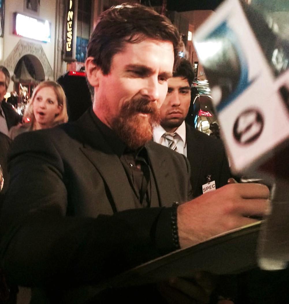 The Big Short, Christian Bale, AFI Festival, LA, premiere