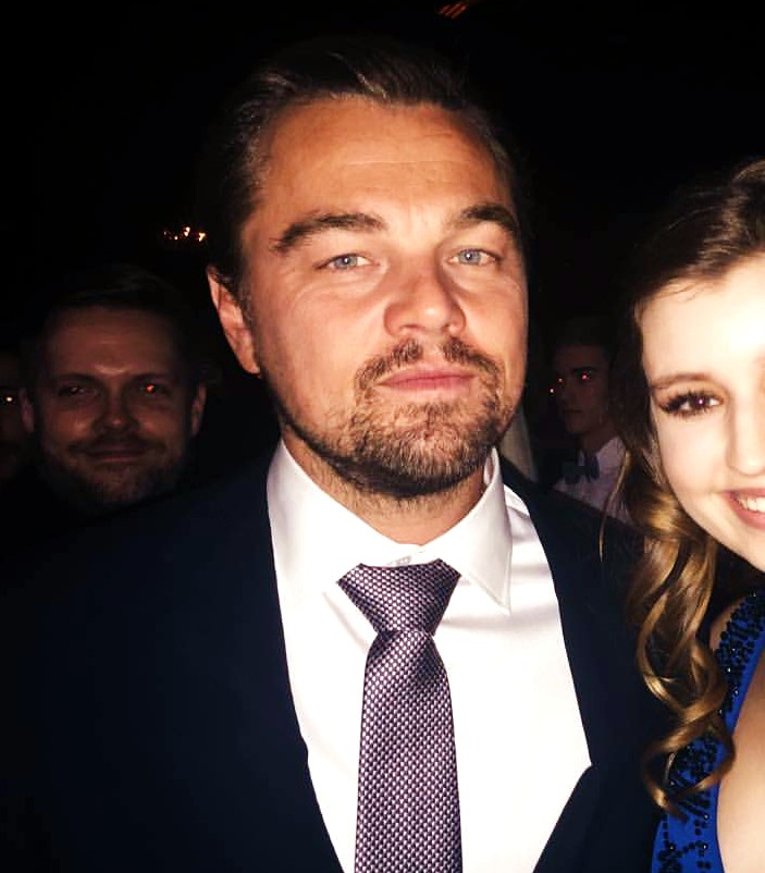 The Revenant, Leonardo DiCaprio, premiere party