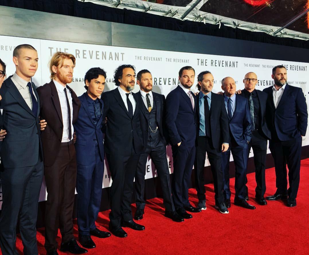 The Revenant, Tom Hardy, Leonardo DiCaprio