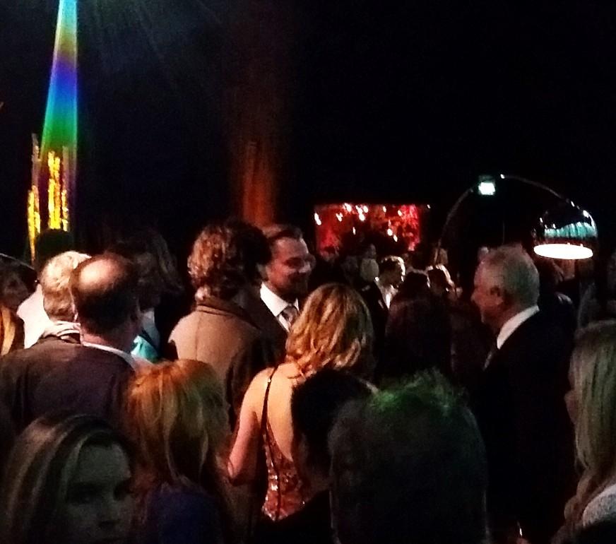 The Revenant, after party, Leonardo DiCaprio