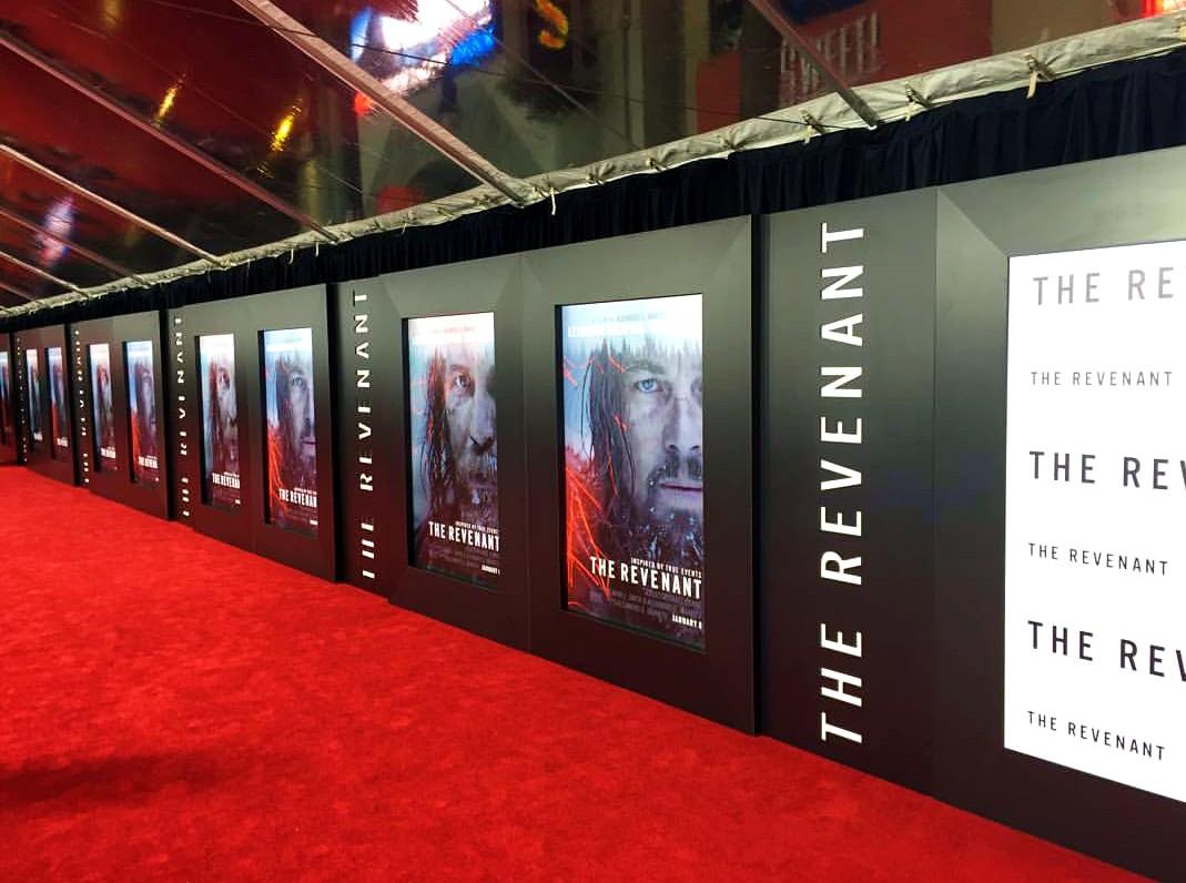 The Revenant, red carpet