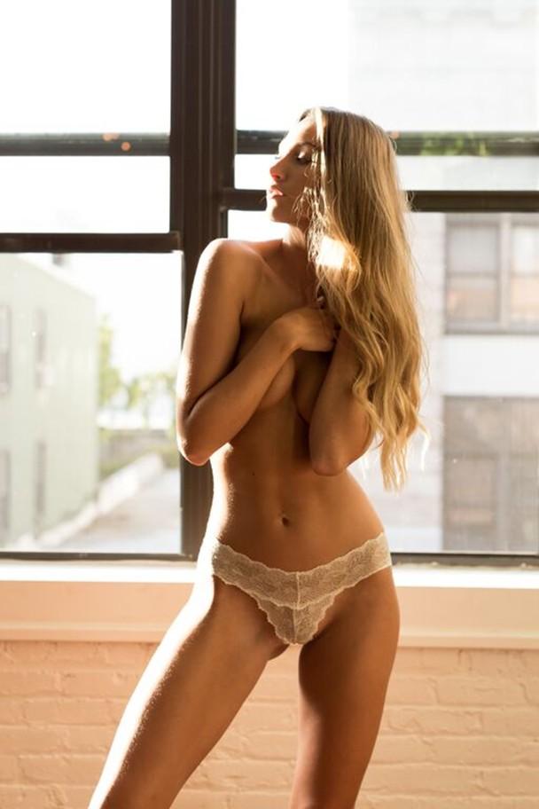 Georgia Sumner, red hot, lingerie, sexy