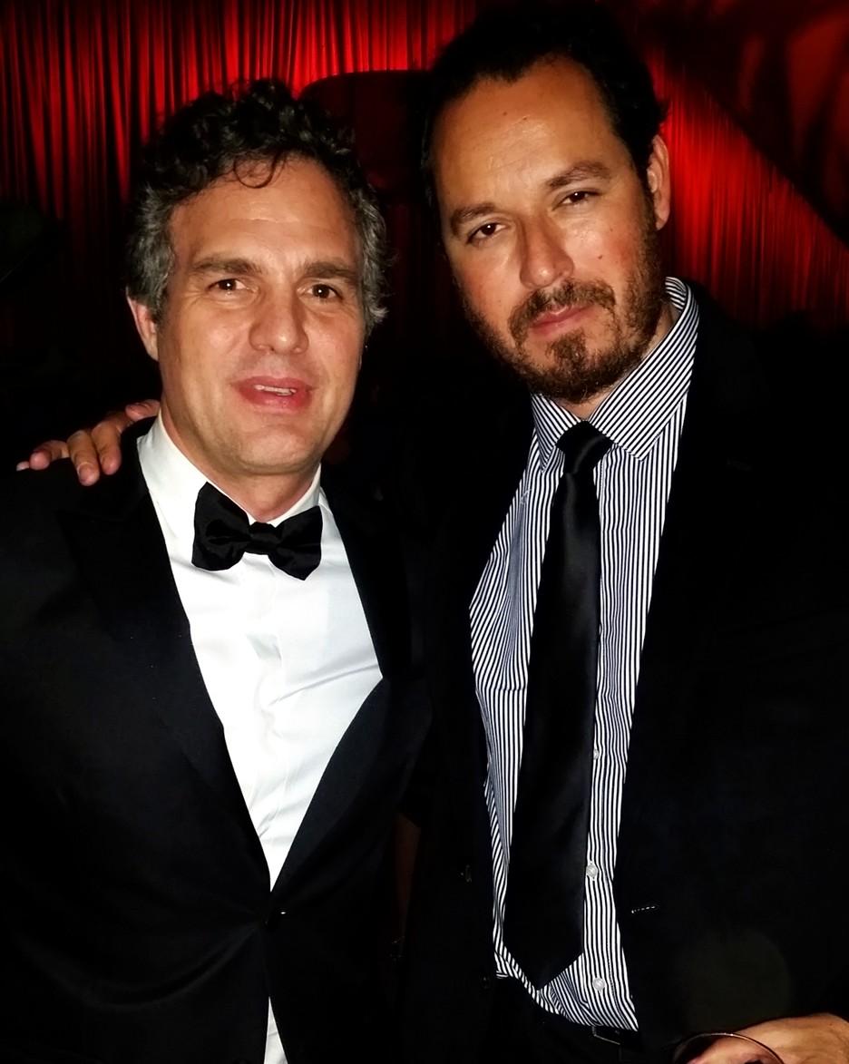 Golden Globes, Mark Ruffalo, Ricardo Garcia, RED HOT SOCIETY