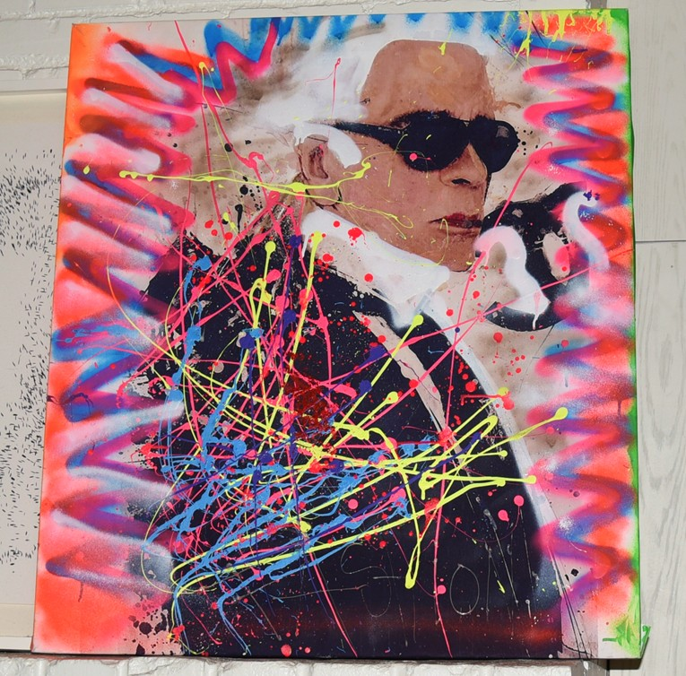 The Chaotic World of Eddy Bogaert, Karl Lagerfeld