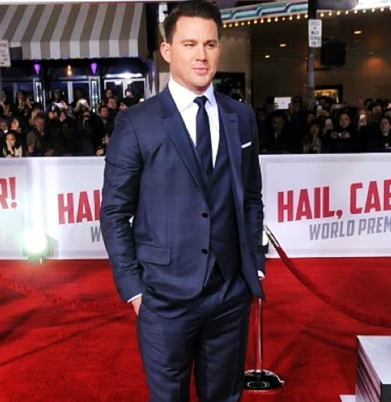 Hail Caesar, movie premiere, Channing Tatum