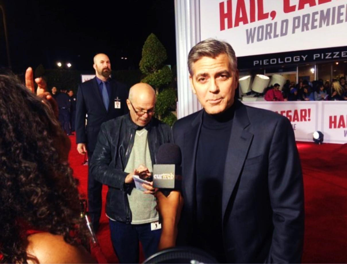 Hail Caesar, movie premiere, George Clooney