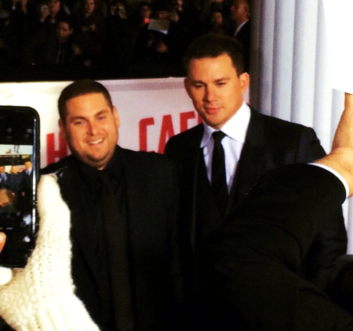 Hail Caesar, movie premiere, Jonah Hill, Channing Tatum