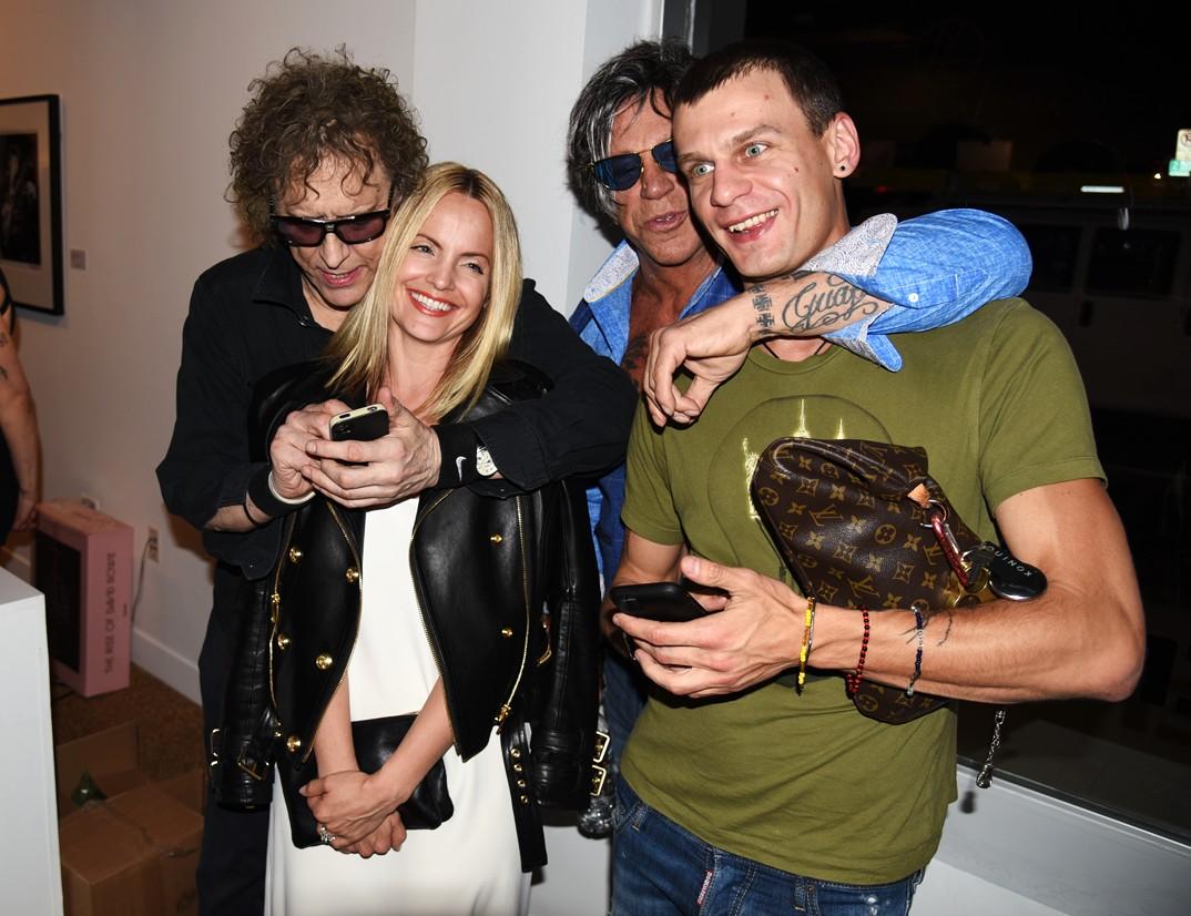 Mick Rock, Revenant, David Bowie, Mena Suvari, Mickey Rourke