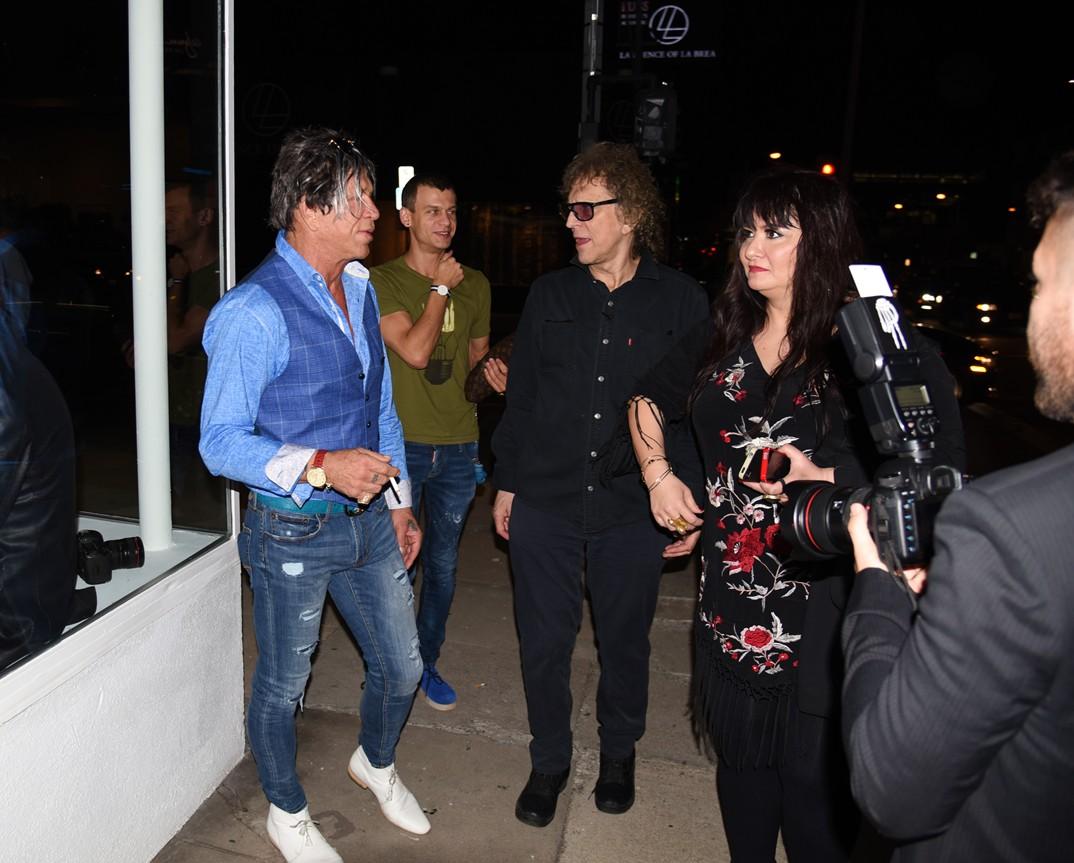 Mick Rock, Revenant, David Bowie, Mickey Rourke 4
