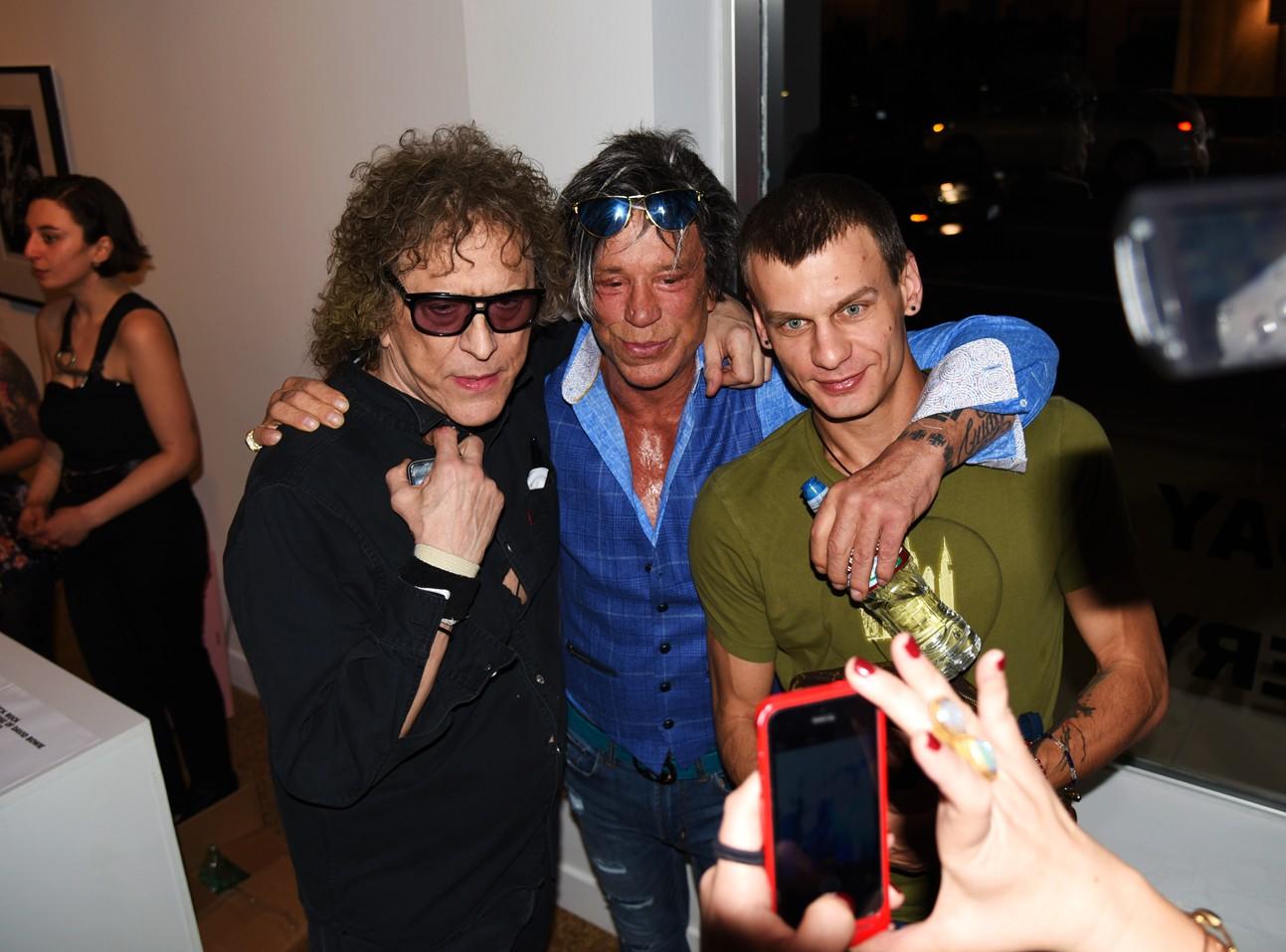 Mick Rock, Revenant, David Bowie, Mickey Rourke
