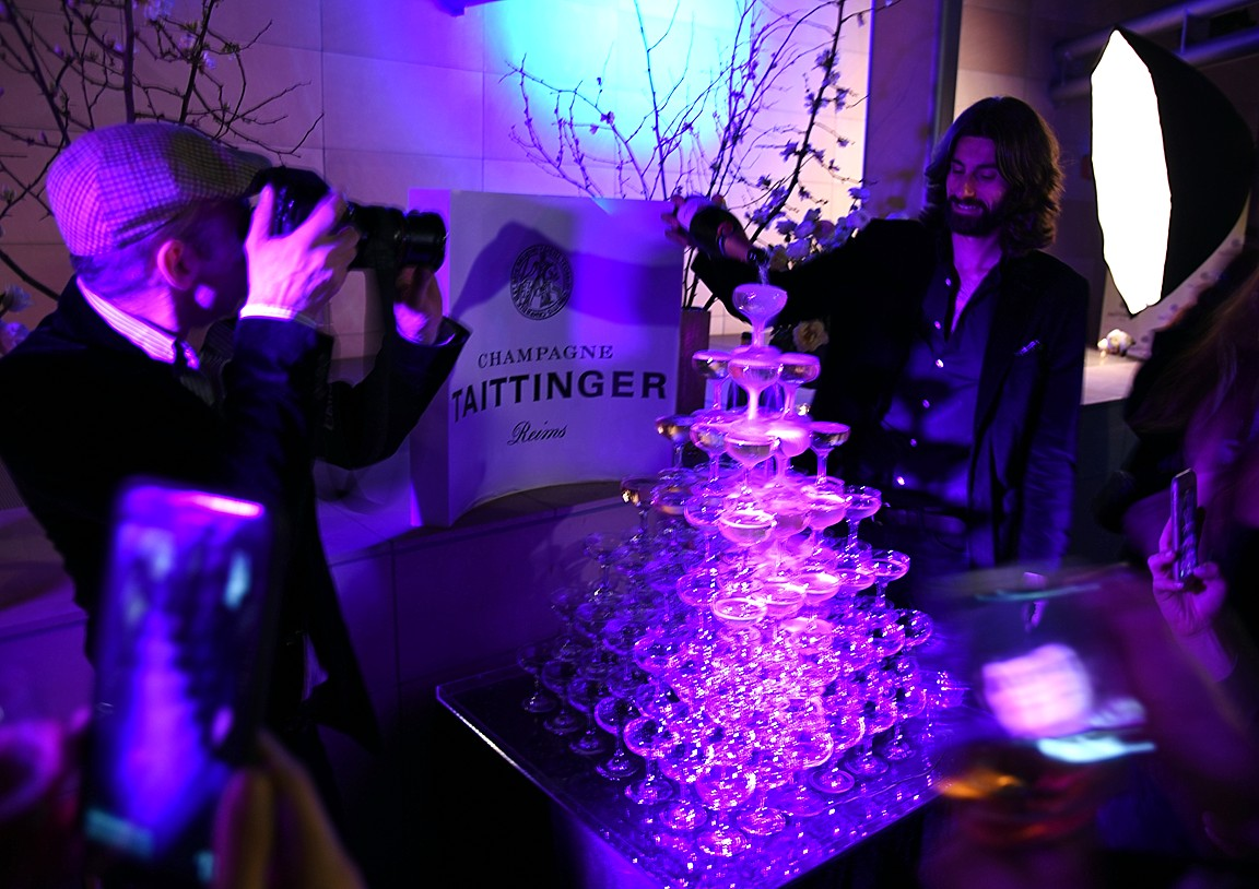 Taittinger and Heritage Fine Wines, Jordane Andrieu