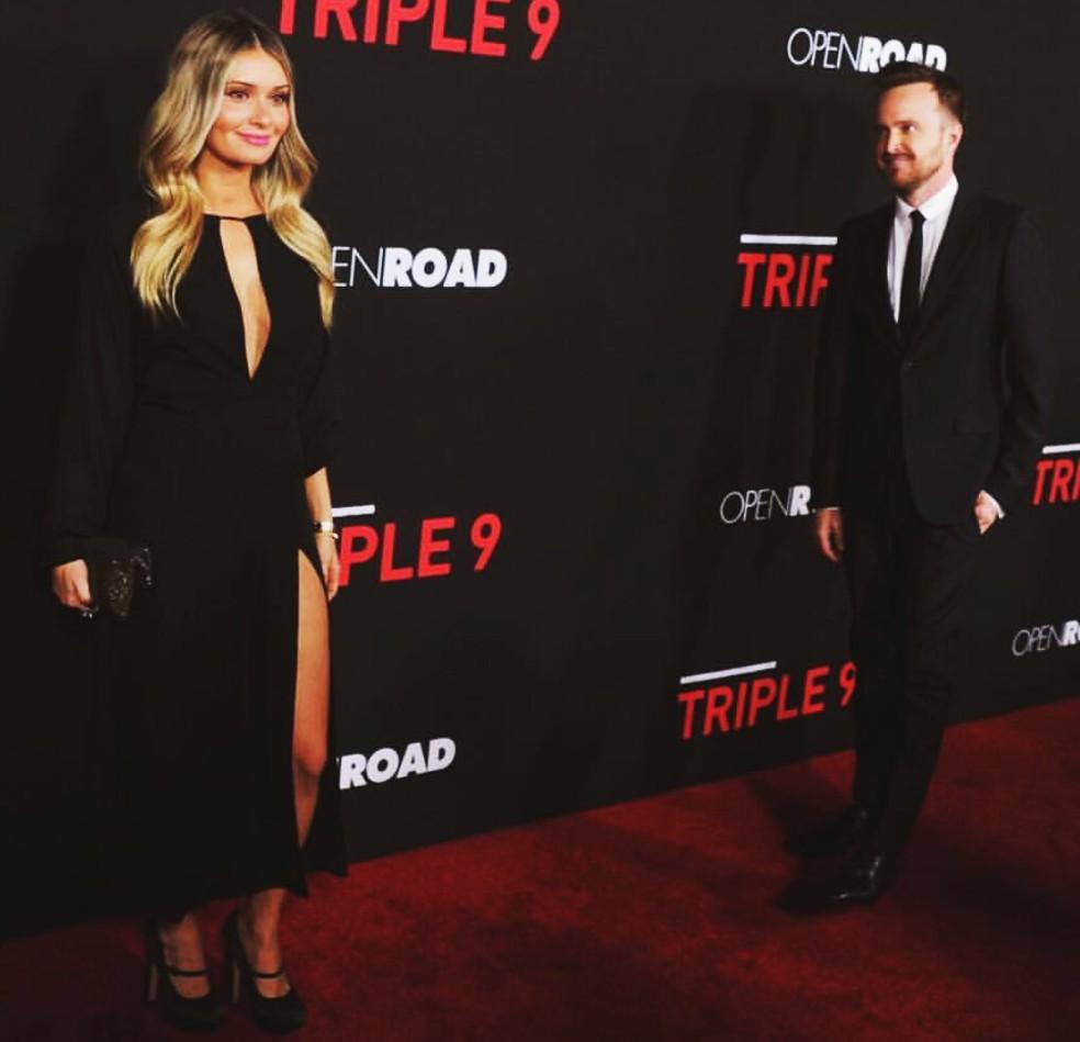 Triple 9, movie premiere, Aaron Paul