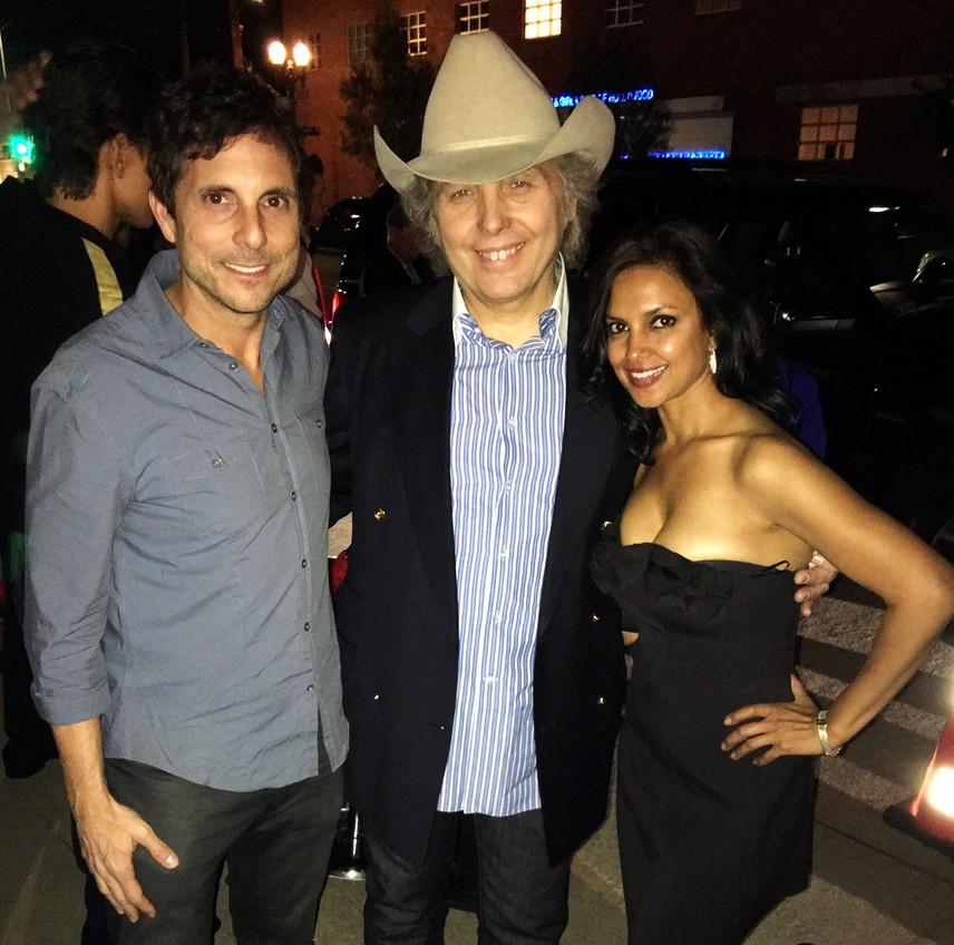 Warner Music Grammy Party 2016, Michael Wendel, Dwight Yoakam & Pritti