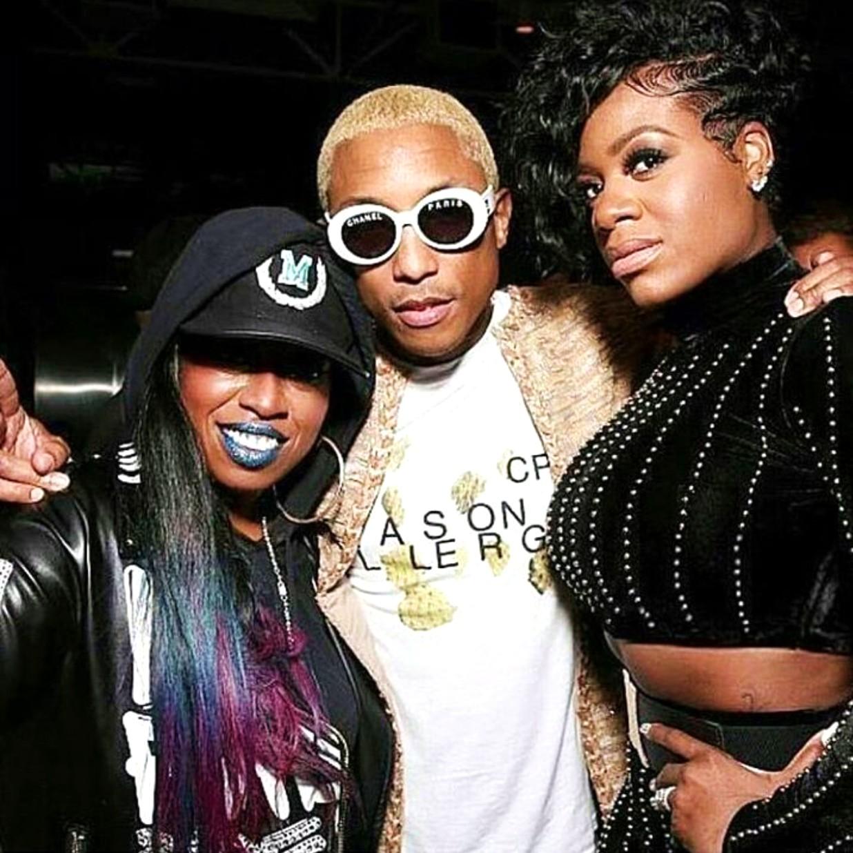 Warner Music, Missy Elliott, Pharrell Williams, Fantasia
