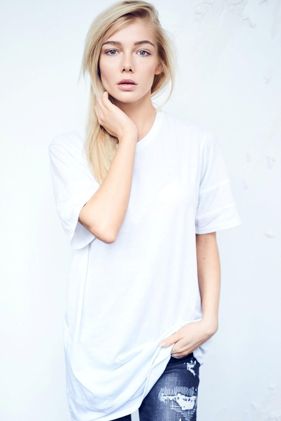Anastasia Belotskaya jeans